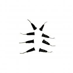Embout aiguille etching noir