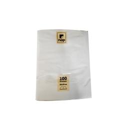 Serviettes blanches 30x39