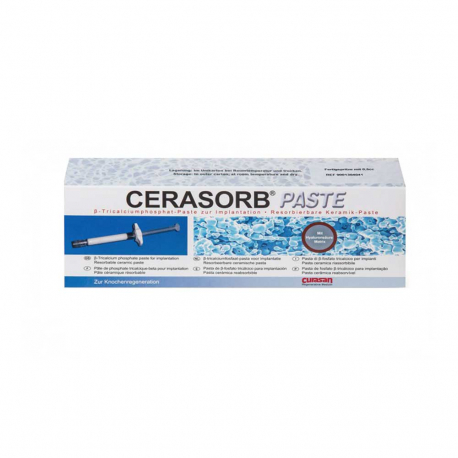 Cerasorb Paste conditionnement seringue curasan