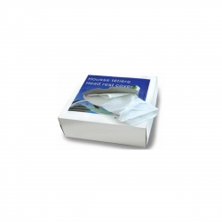 Housse têtières 25x33 cm blanches
