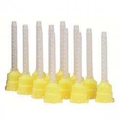 Embouts mélangeurs jaunes par 100