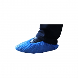 Surchaussures bleues