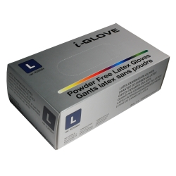 I-Glove latex sans poudre