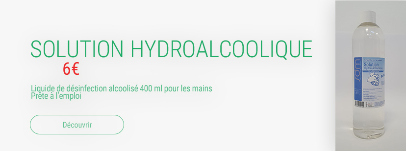 Solution hydroalcoolique